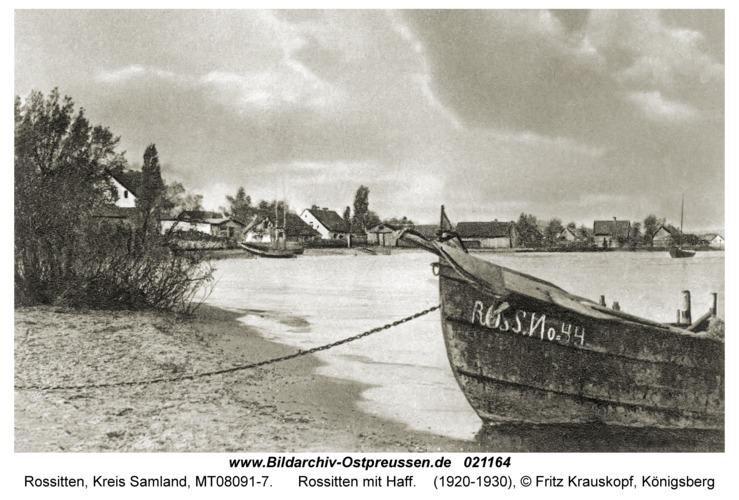 Rossitten Kr. Samland, Rossitten mit Haff