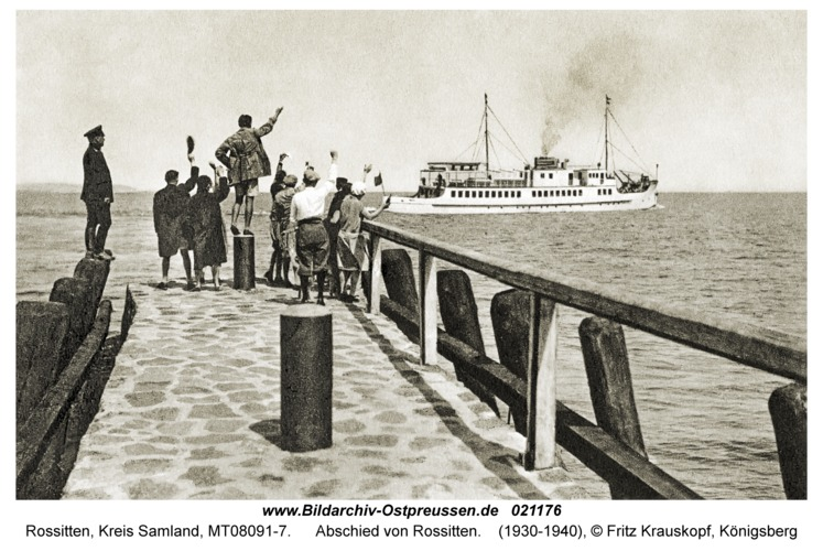 Rossitten Kr. Samland, Abschied von Rossitten