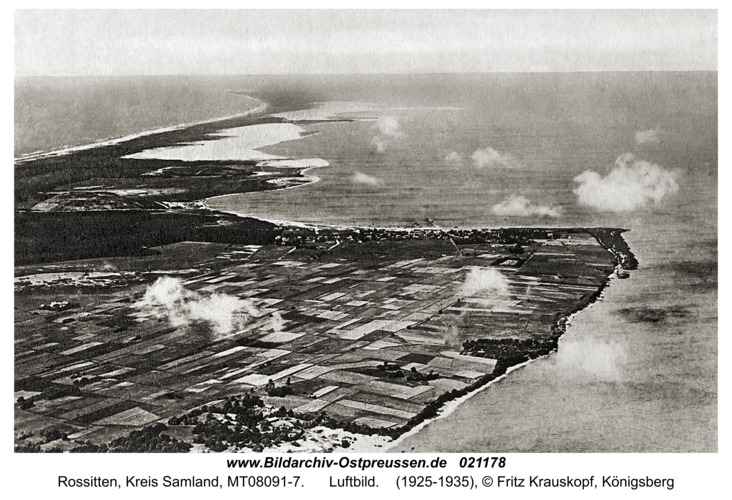Rossitten Kr. Samland, Luftbild