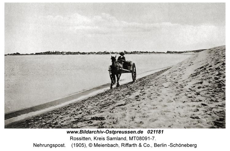 Rossitten Kr. Samland, Nehrungspost