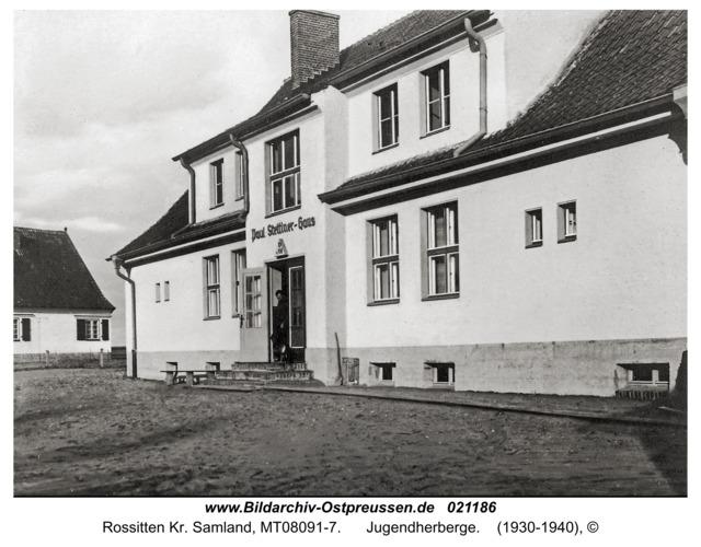Rossitten Kr. Samland, Jugendherberge