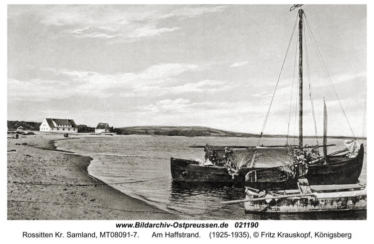 Rossitten Kr. Samland, Am Haffstrand