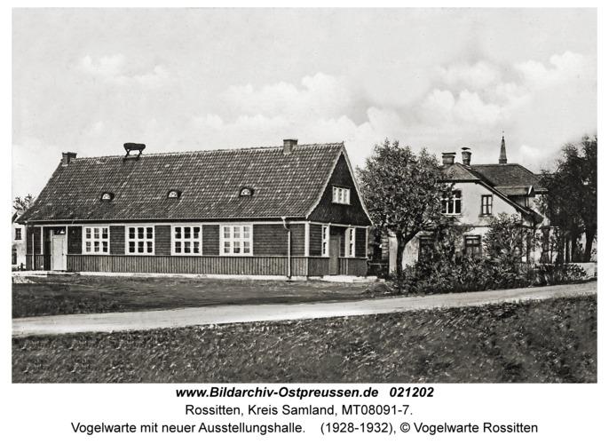 Rossitten Kr. Samland, Vogelwarte mit neuer Ausstellungshalle