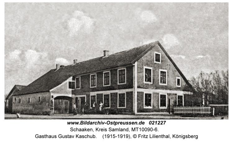 Schaaken, Gasthaus Gustav Kaschub