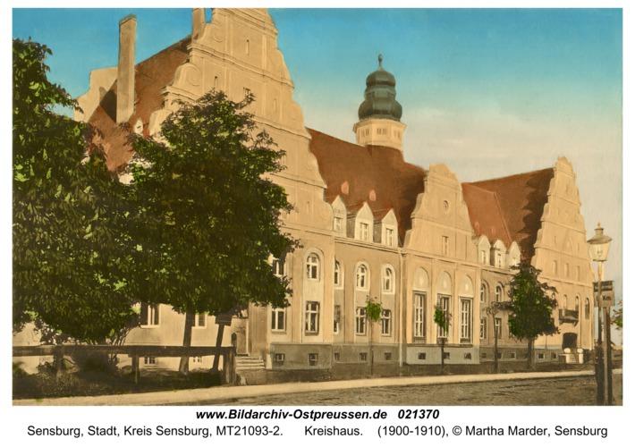 Sensburg, Kreishaus