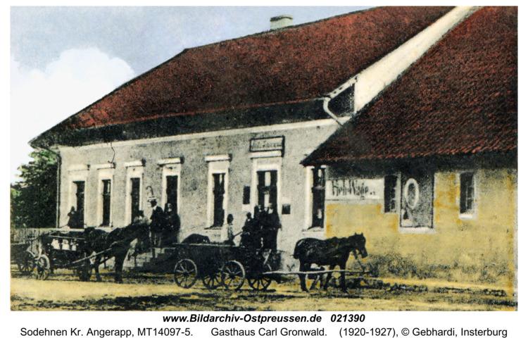 Sodehnen Kr. Angerapp, Gasthaus Carl Gronwald