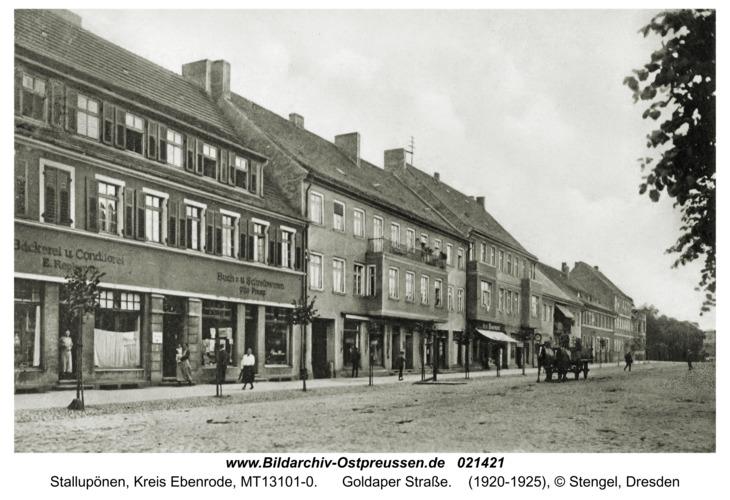 Ebenrode fr. Stallupönen, Goldaperstraße