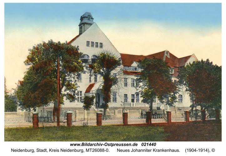 Neidenburg, Neues Johanniter Krankenhaus