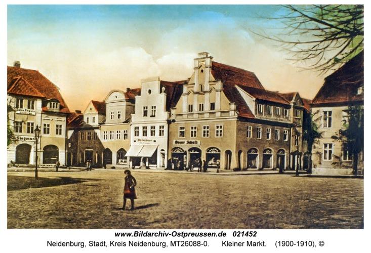 Neidenburg, Kleiner Markt