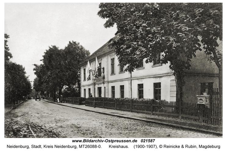 Neidenburg, Kreishaus