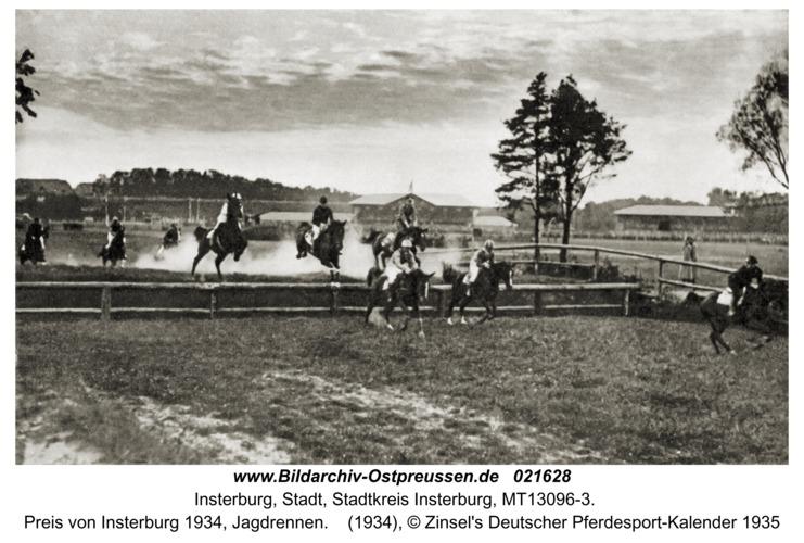 Insterburg, Preis von Insterburg 1934, Jagdrennen