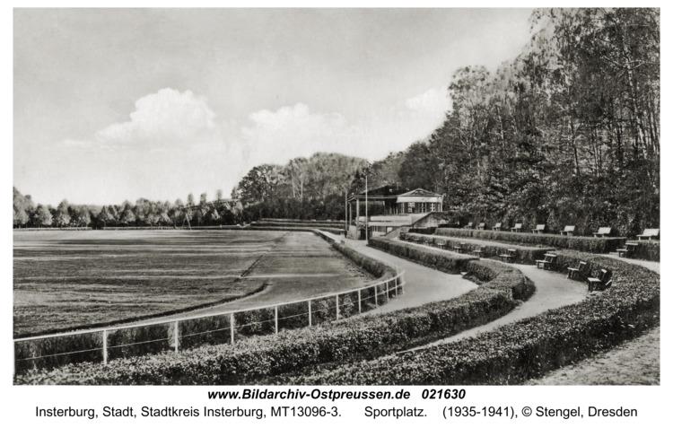 Insterburg, Sportplatz