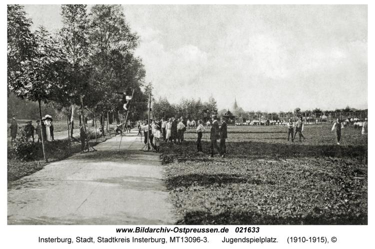 Insterburg, Jugendspielplatz