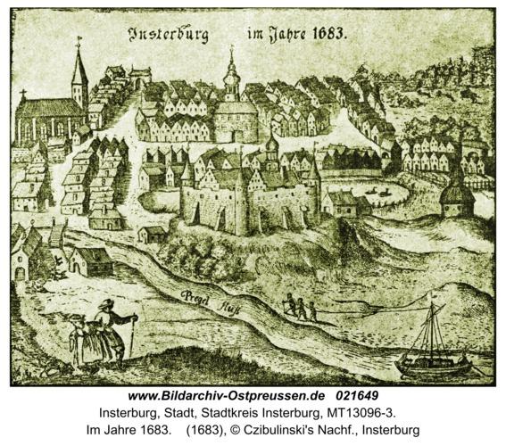 Insterburg, Im Jahre 1683