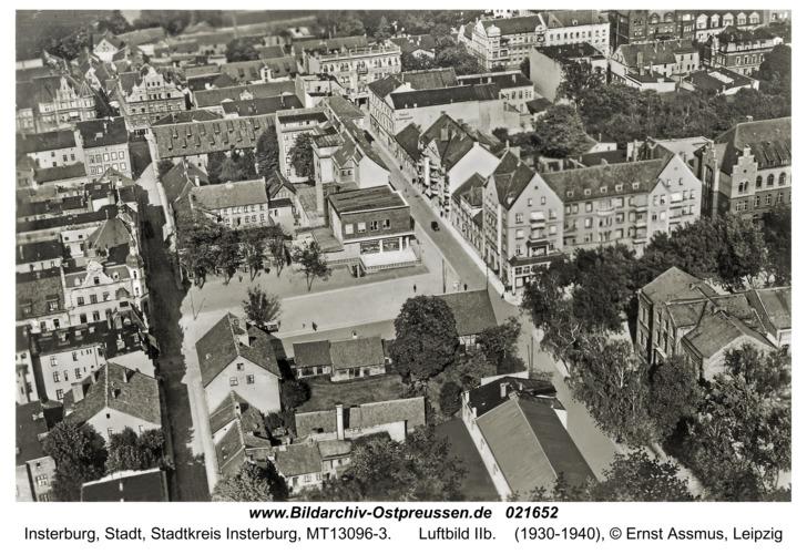 Insterburg, Luftbild IIb