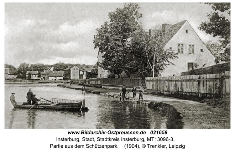 Insterburg, Partie aus dem Schützenpark