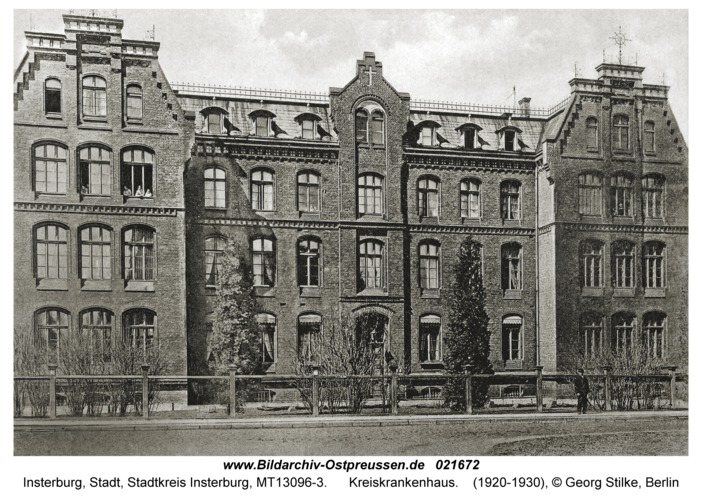 Insterburg, Kreiskrankenhaus