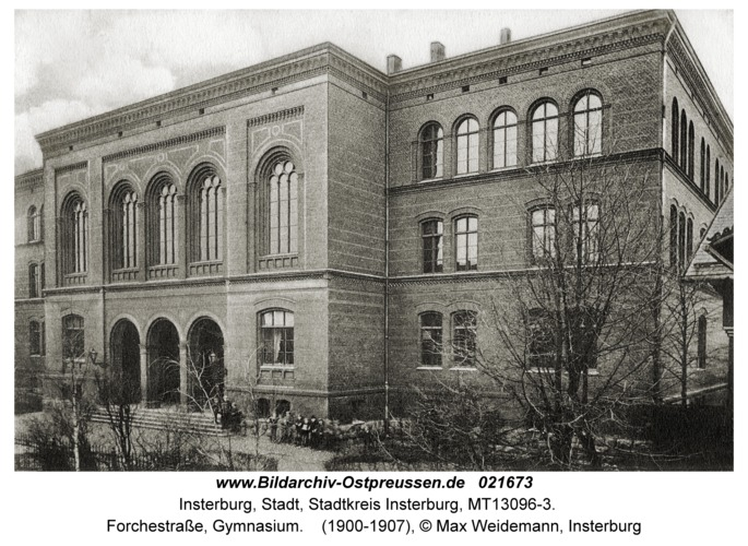 Insterburg, Forchestraße, Gymnasium