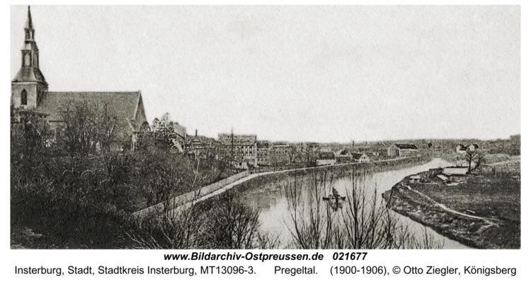 Insterburg, Pregeltal