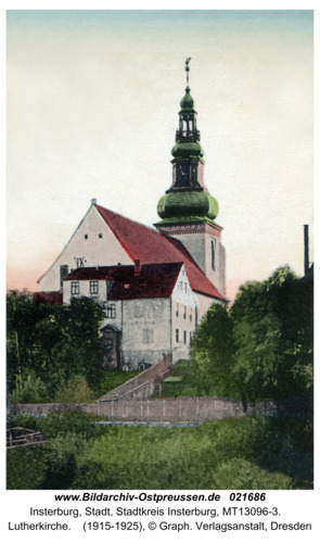 Insterburg, Lutherkirche