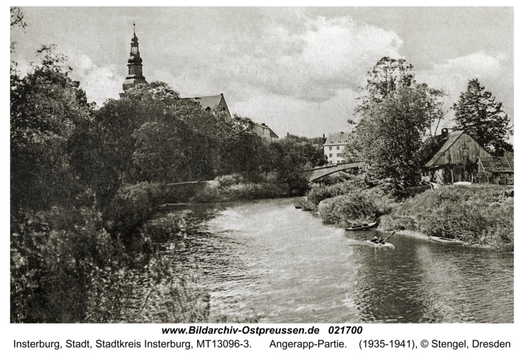 Insterburg, Angerapp-Partie