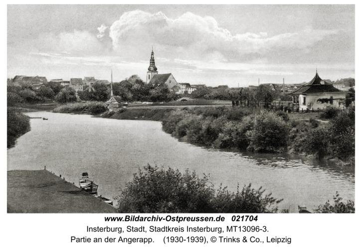 Insterburg, Partie an der Angerapp