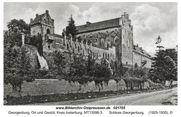 Georgenburg, Ort und Gestüt, Schloss Georgenburg