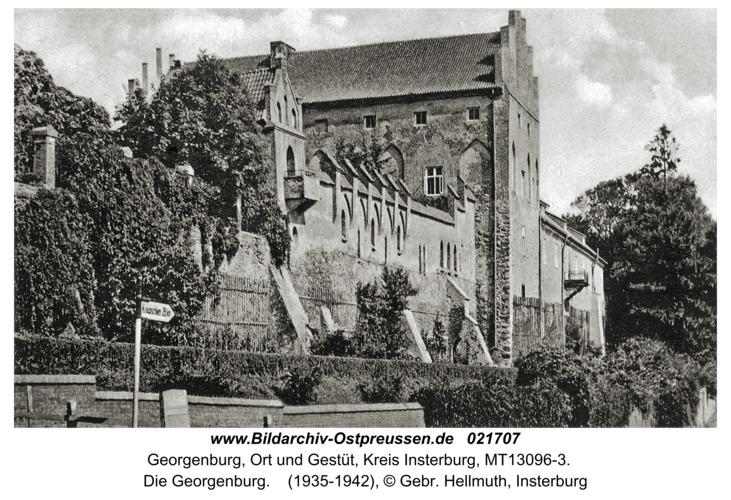 Georgenburg, Ort und Gestüt, Die Georgenburg