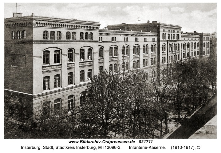 Insterburg, Infanterie-Kaserne