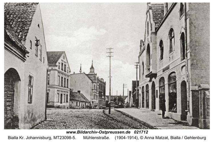 Bialla Kr. Johannisburg, Mühlenstraße
