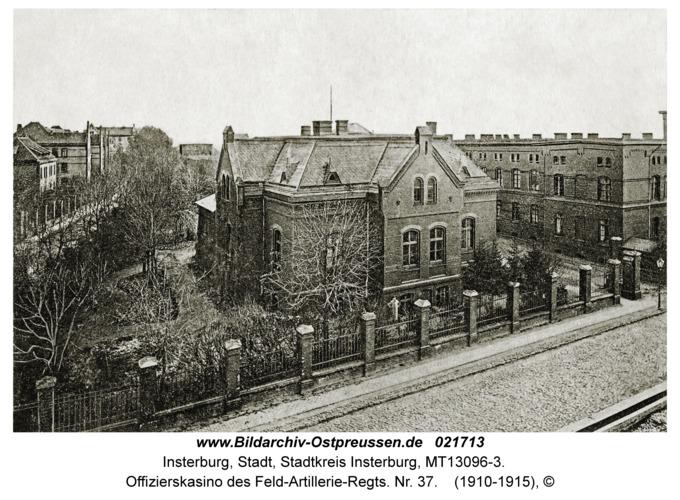 Insterburg, Offizierskasino des Feld-Artillerie-Regts. Nr. 37