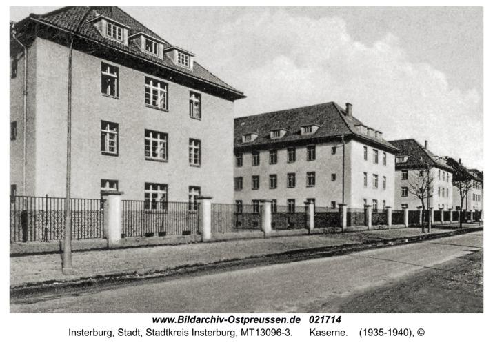 Insterburg, Kaserne
