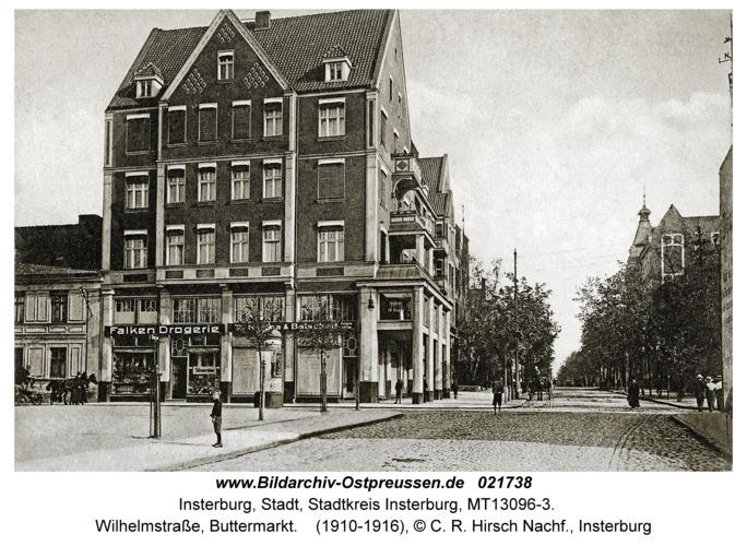 Insterburg, Wilhelmstraße, Buttermarkt