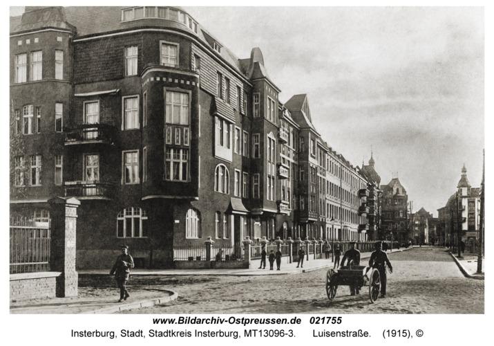 Insterburg, Luisenstraße