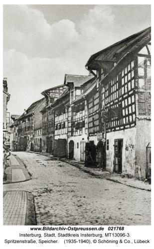 Insterburg, Spritzenstraße, Speicher