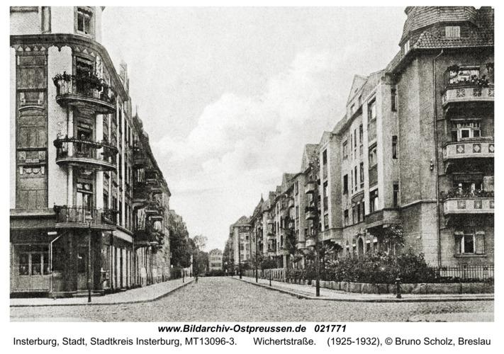 Insterburg, Wichertstraße
