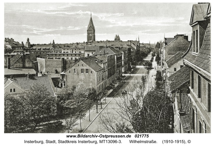 Insterburg, Wilhelmstraße