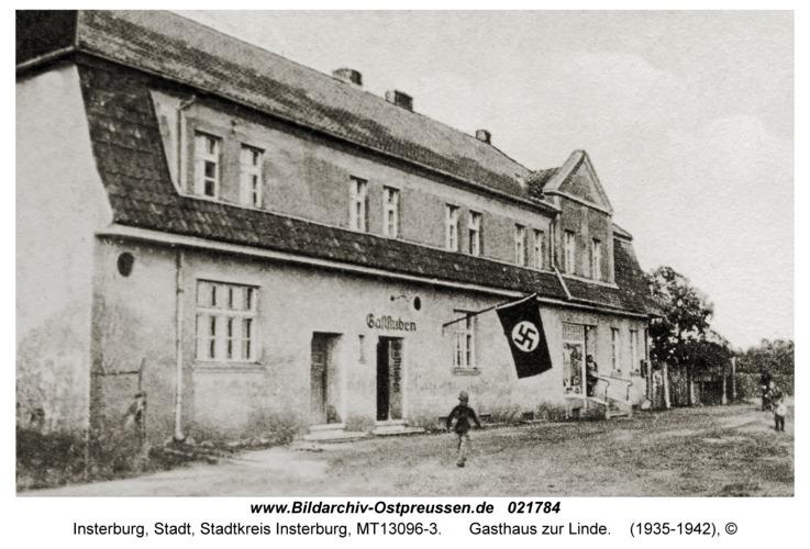 Insterburg, Gasthaus zur Linde