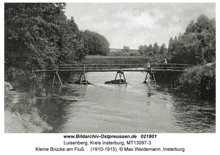 Karalene, Kleine Brücke am Fluß