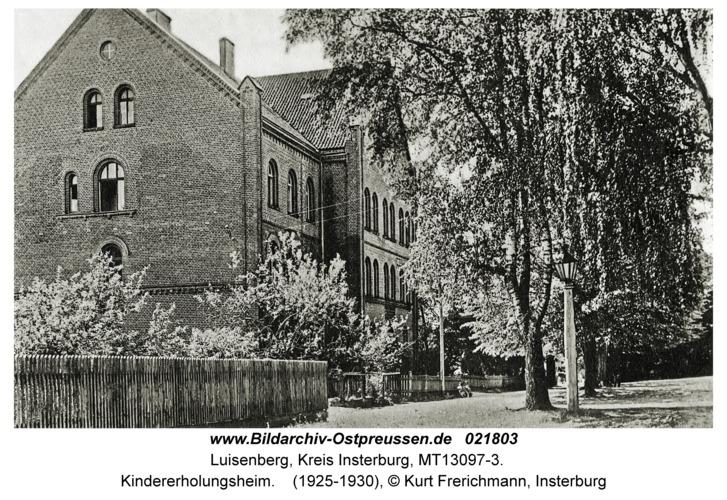 Karalene, Kindererholungsheim