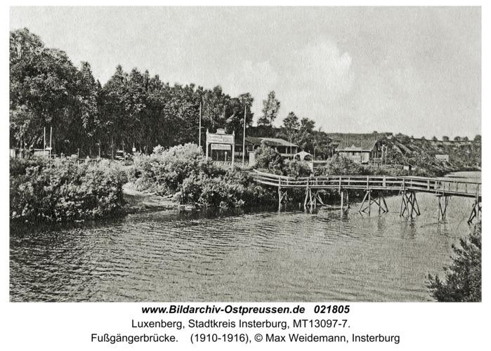 Luxenberg, Fußgängerbrücke