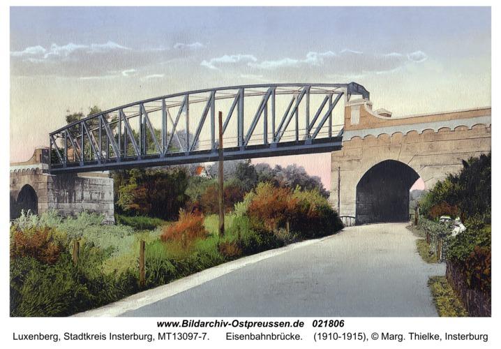Luxenberg, Eisenbahnbrücke