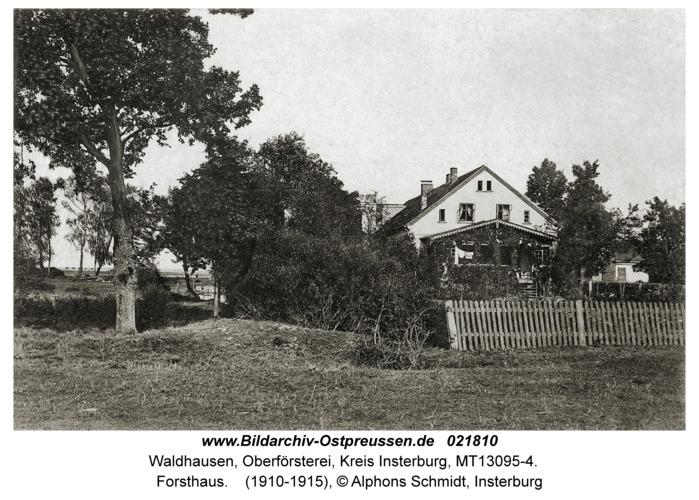 Waldhausen Kr. Insterburg, Forsthaus
