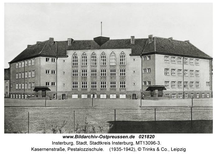 Insterburg, Kasernenstraße, Pestalozzischule