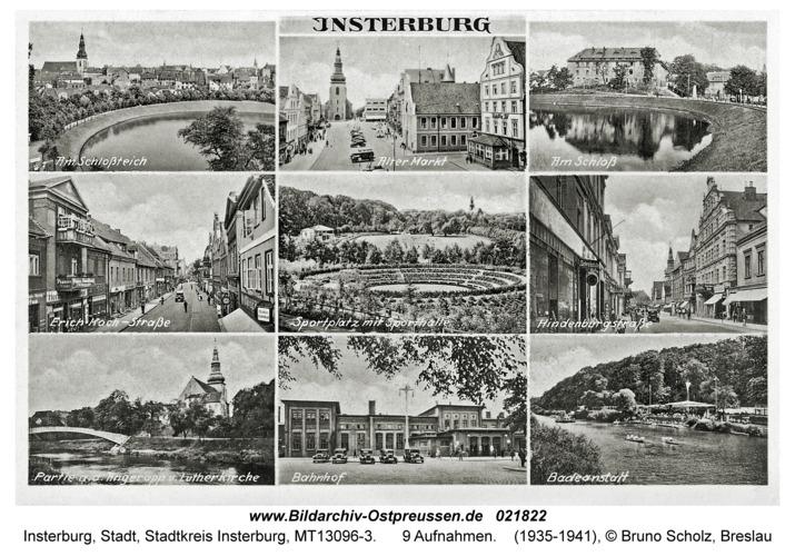 Insterburg, 9 Motive