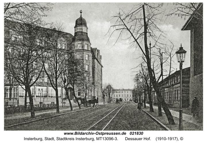 Insterburg, Dessauer Hof