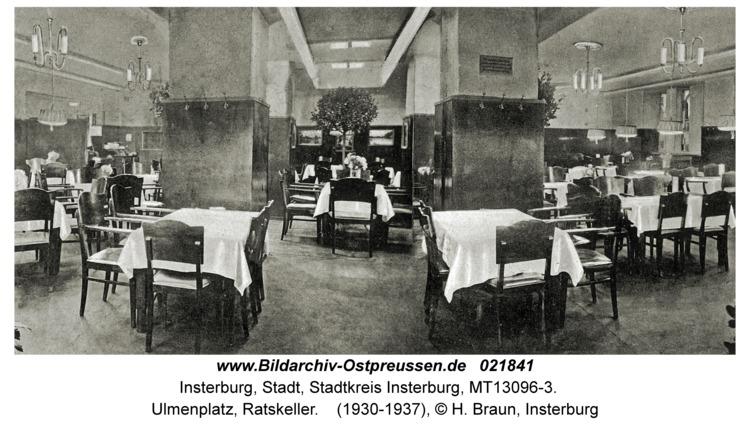 Insterburg, Ulmenplatz, Ratskeller