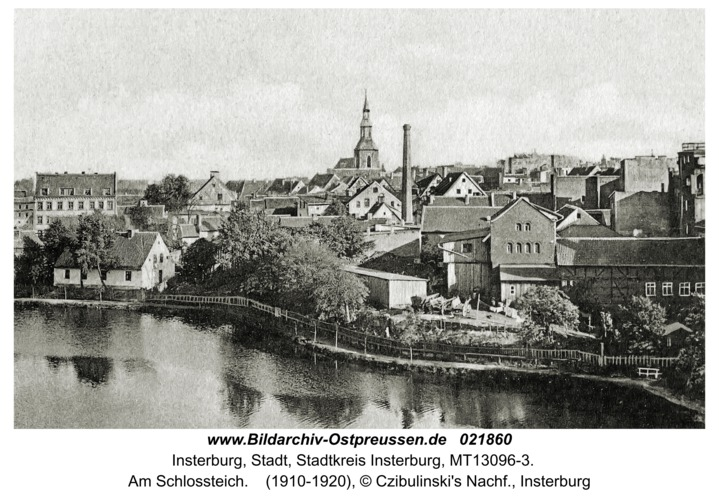 Insterburg, Am Schlossteich