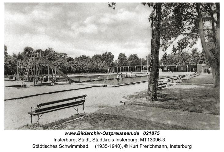 Insterburg, Städtisches Schwimmbad