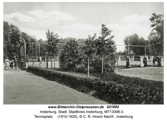 Insterburg, Tennisplatz